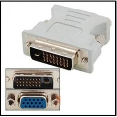 Converter DVI-D to VGA (24+1pin) Dual Link Adapter